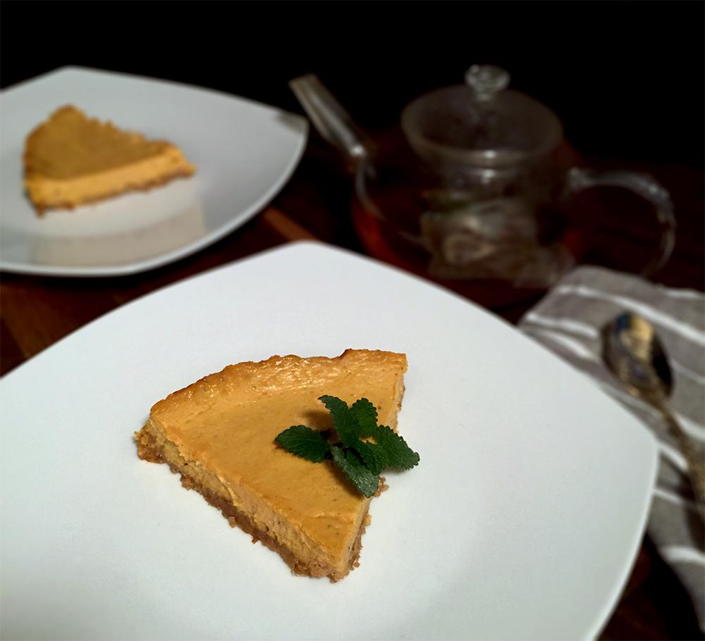 Cheesecake de calabaza 3½